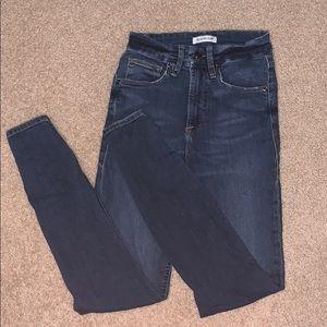 Good American Good Waist Jeans worn twice.
